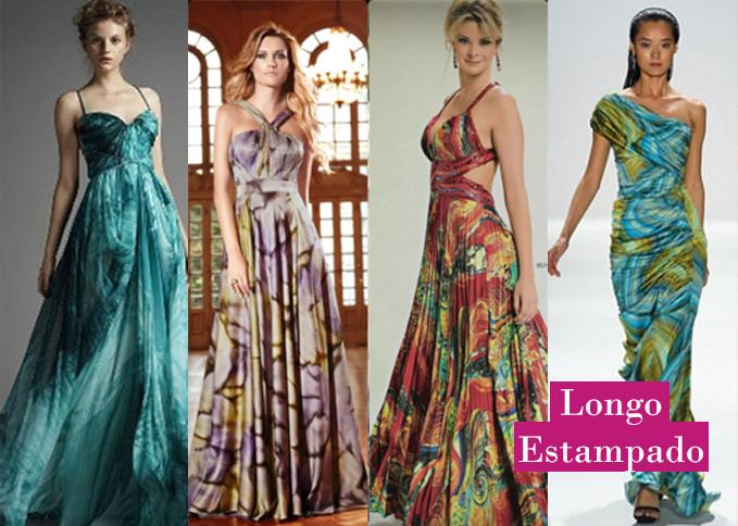 Vestidos longos leves verao